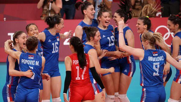 Sırbistan kadın voleybol takımı - Sputnik Türkiye