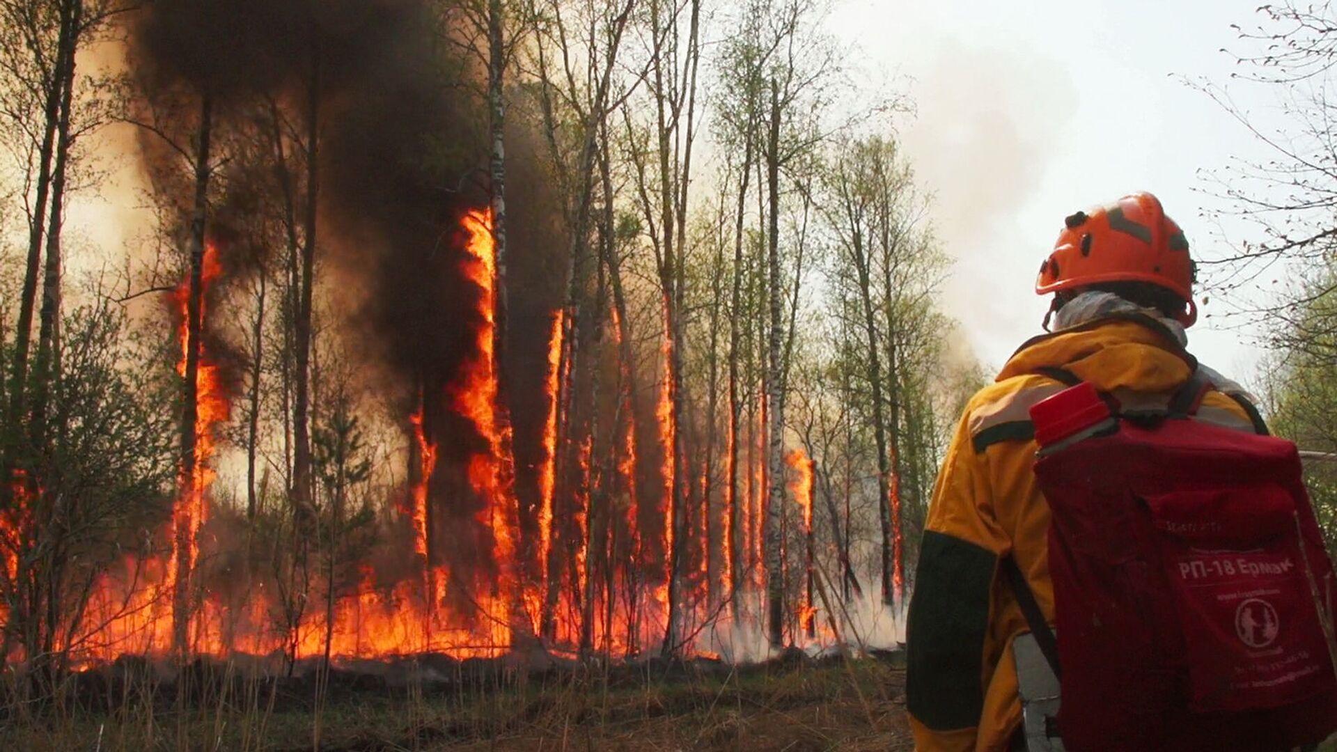 Yakutistan'da acil durum ilan edildi: Orman yangınları yerleşim yerlerine sıçradı - Sputnik Türkiye, 1920, 14.10.2021