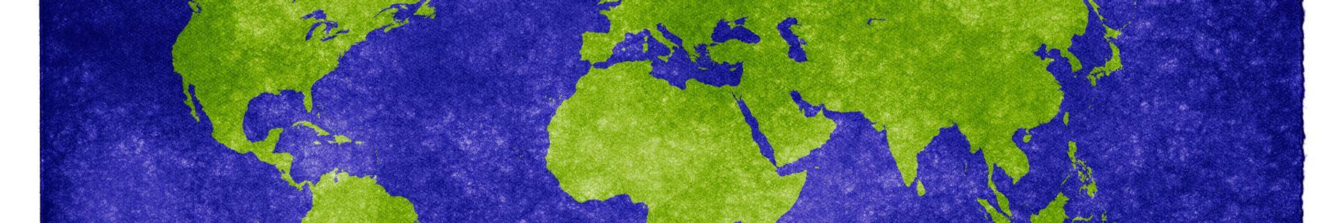 Dünya haritası - Sputnik Türkiye