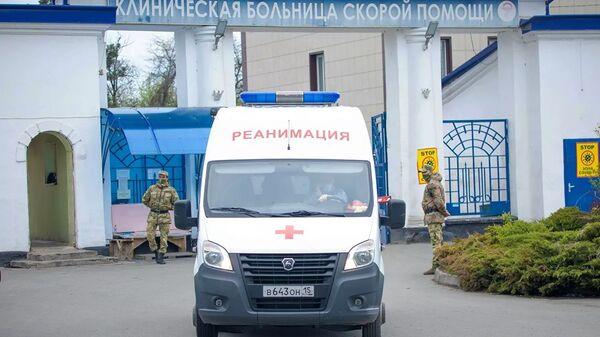 Rusya - hastane - ambulans - Sputnik Türkiye
