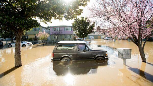 Наводнение в Калифорнии  - Sputnik Türkiye