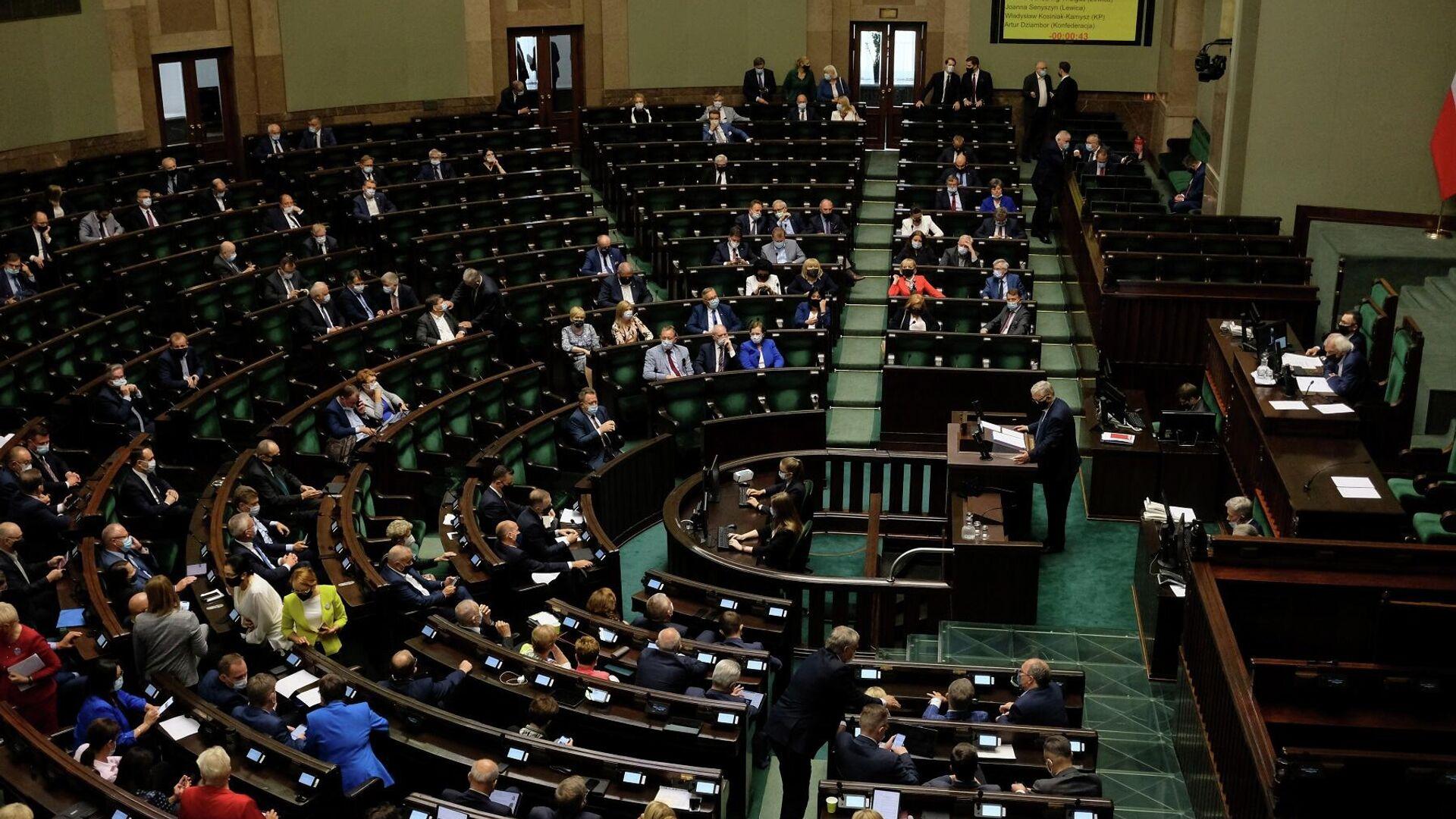 Polonya parlamentosu - Sputnik Türkiye, 1920, 12.08.2021