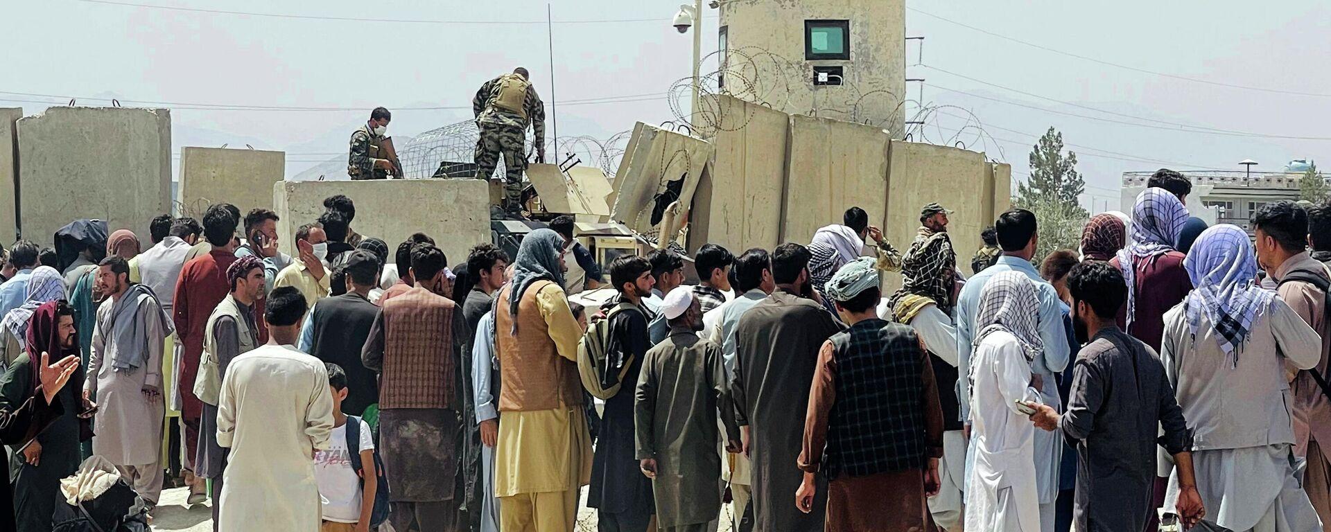 Afganistan'da Taliban dönemi | Örgütün basın sorumlusu: Yönetim boşluğunun doldurulacağını umuyorum - Sputnik Türkiye, 1920, 20.08.2021