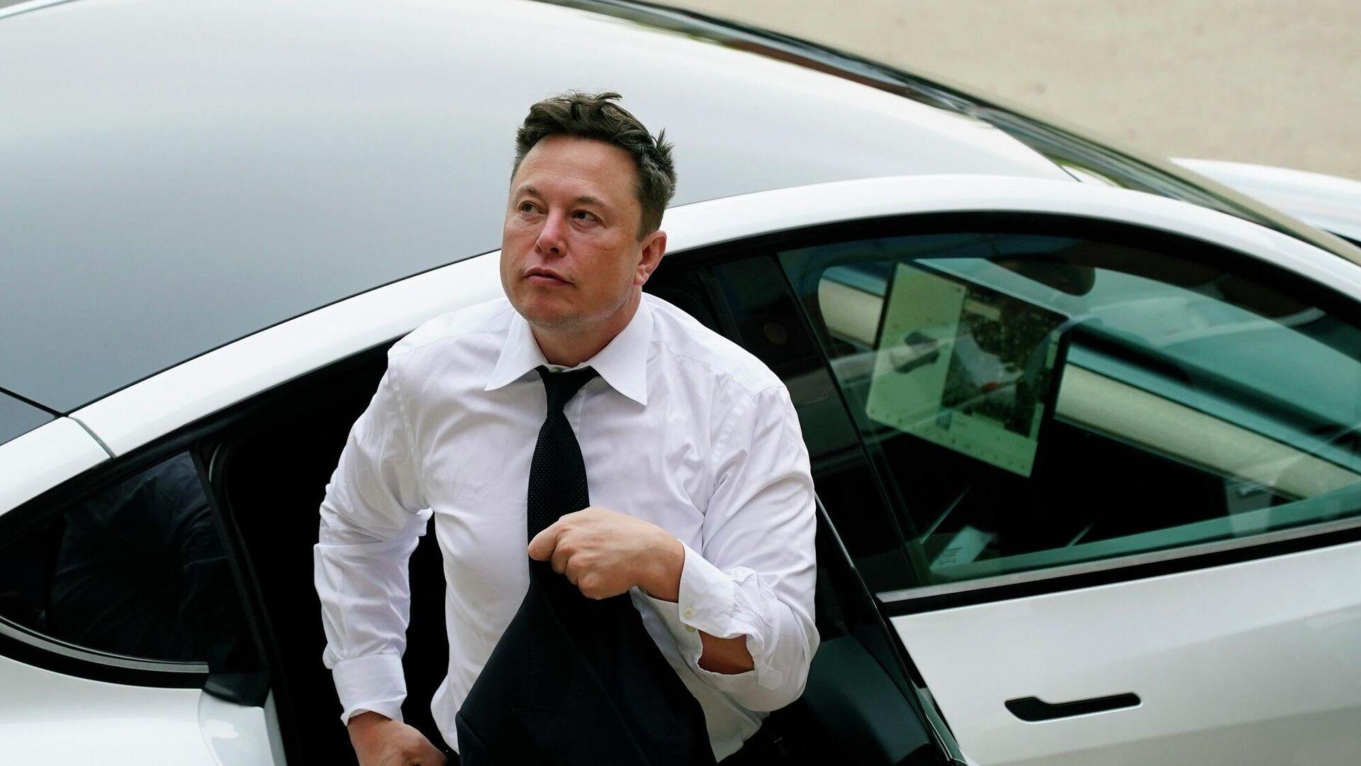 Elon Musk - Sputnik Türkiye, 1920, 20.09.2021