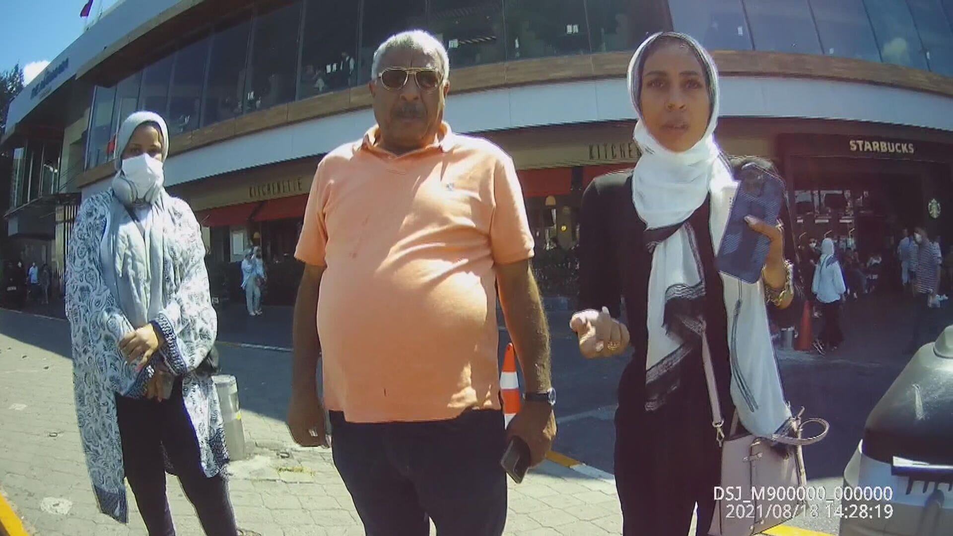 Taksim'de taksicilerle tartışan turistler - Sputnik Türkiye, 1920, 22.08.2021