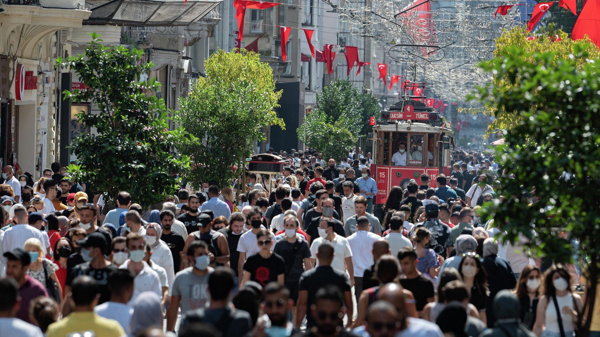 İstanbul, İstiklal Caddesi, vaka - Sputnik Türkiye, 1920, 01.09.2021