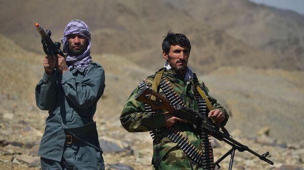 Движение афганского сопротивления на страже в провинции Панджшер - Sputnik Türkiye