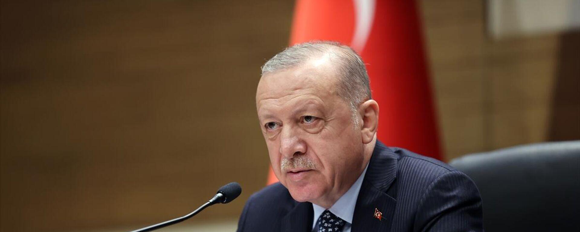 Recep Tayyip Erdoğan - Sputnik Türkiye, 1920, 27.08.2021