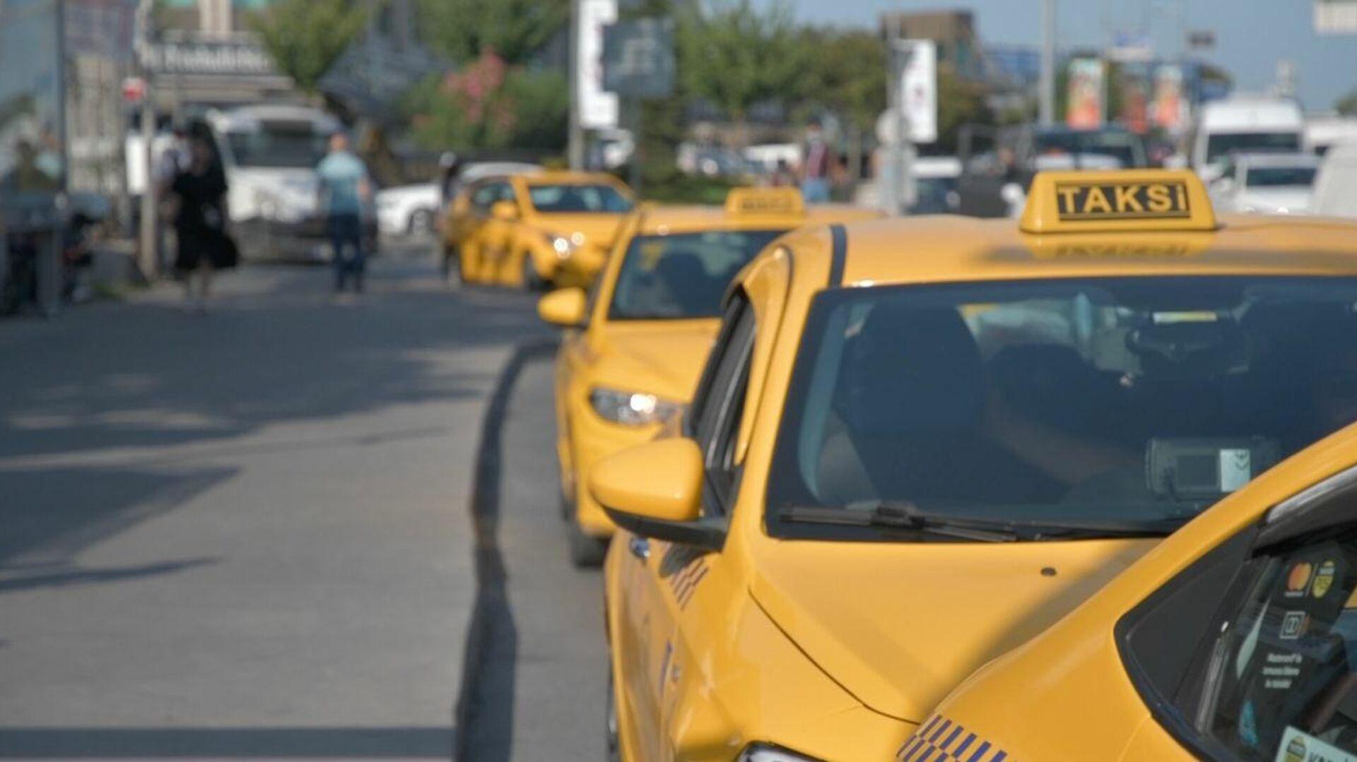 Taksi, taksici - Sputnik Türkiye, 1920, 28.09.2021