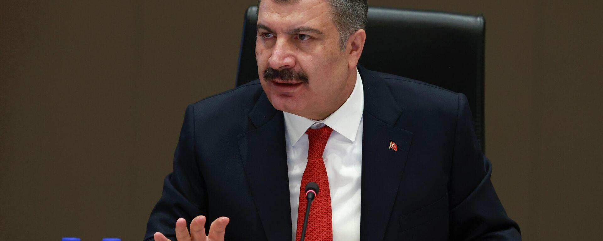 Sağlık Bakanı Fahrettin Koca - Sputnik Türkiye, 1920, 22.09.2021