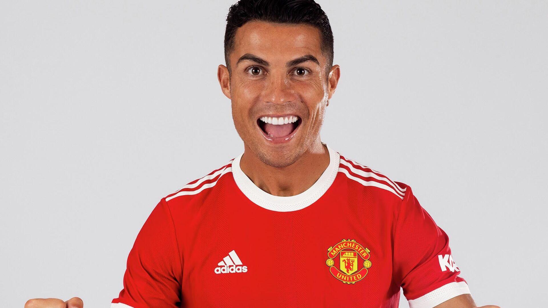 Cristiano Ronaldo, Manchester United - Sputnik Türkiye, 1920, 18.09.2021
