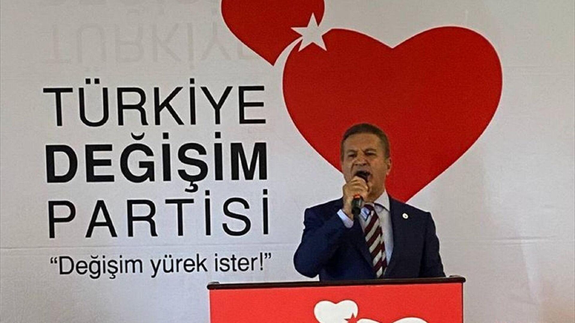Türkiye Değişim Partisi Genel Başkanı Mustafa Sarıgül - Sputnik Türkiye, 1920, 27.09.2021