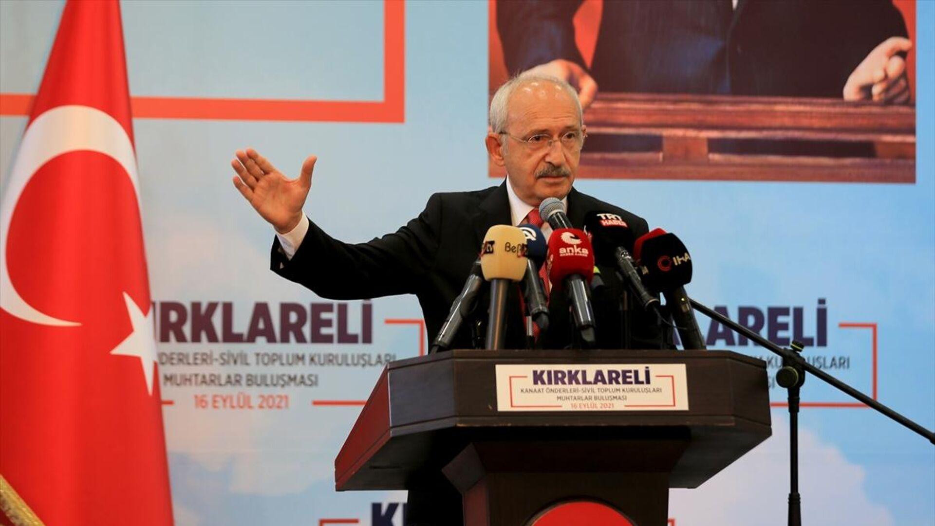 Kemal Kılıçdaroğlu - Sputnik Türkiye, 1920, 29.09.2021