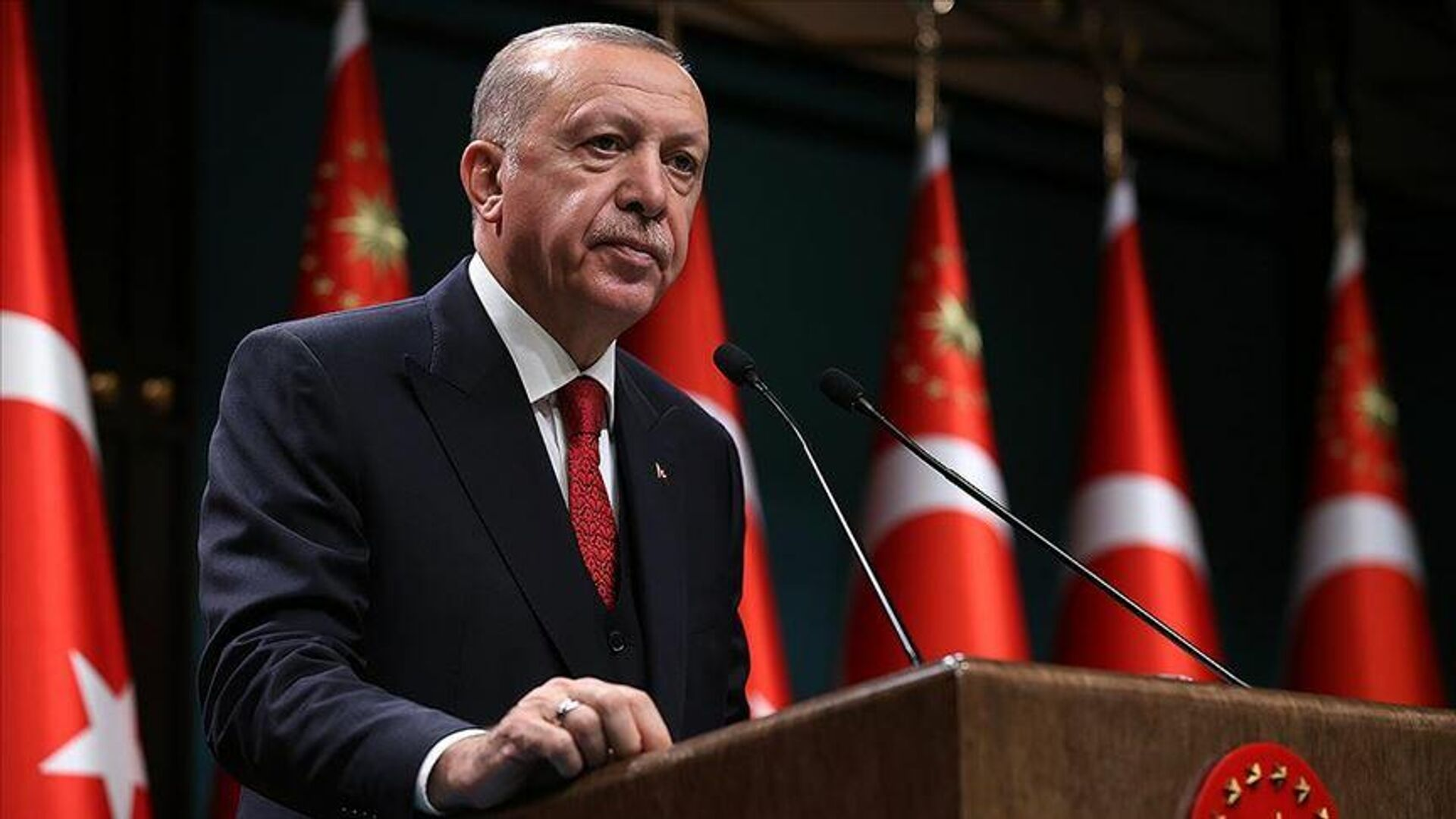 Cumhurbaşkanı Recep Tayyip Erdoğan - Sputnik Türkiye, 1920, 20.09.2021