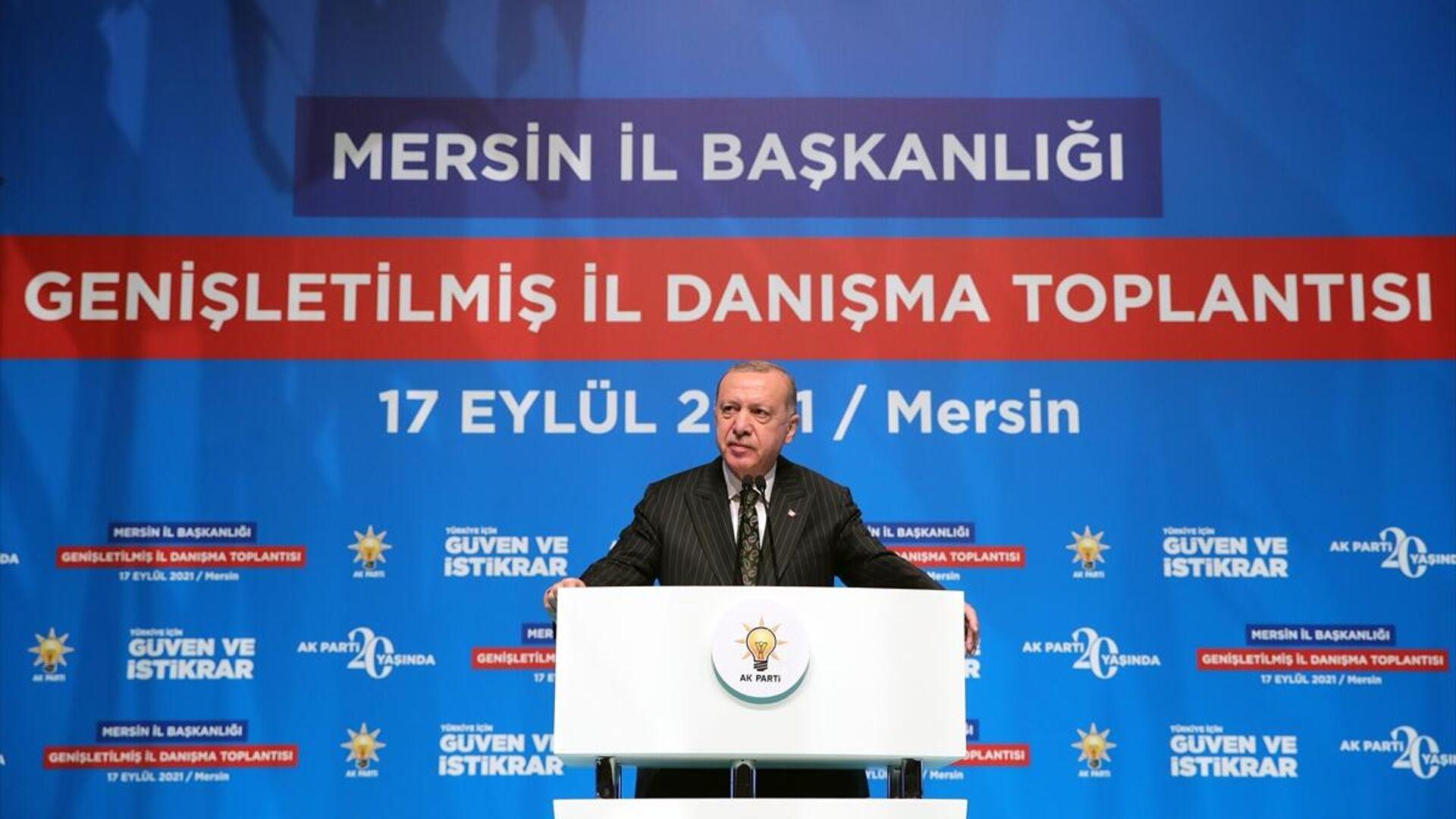 Recep Tayyip Erdoğan - Sputnik Türkiye, 1920, 17.09.2021