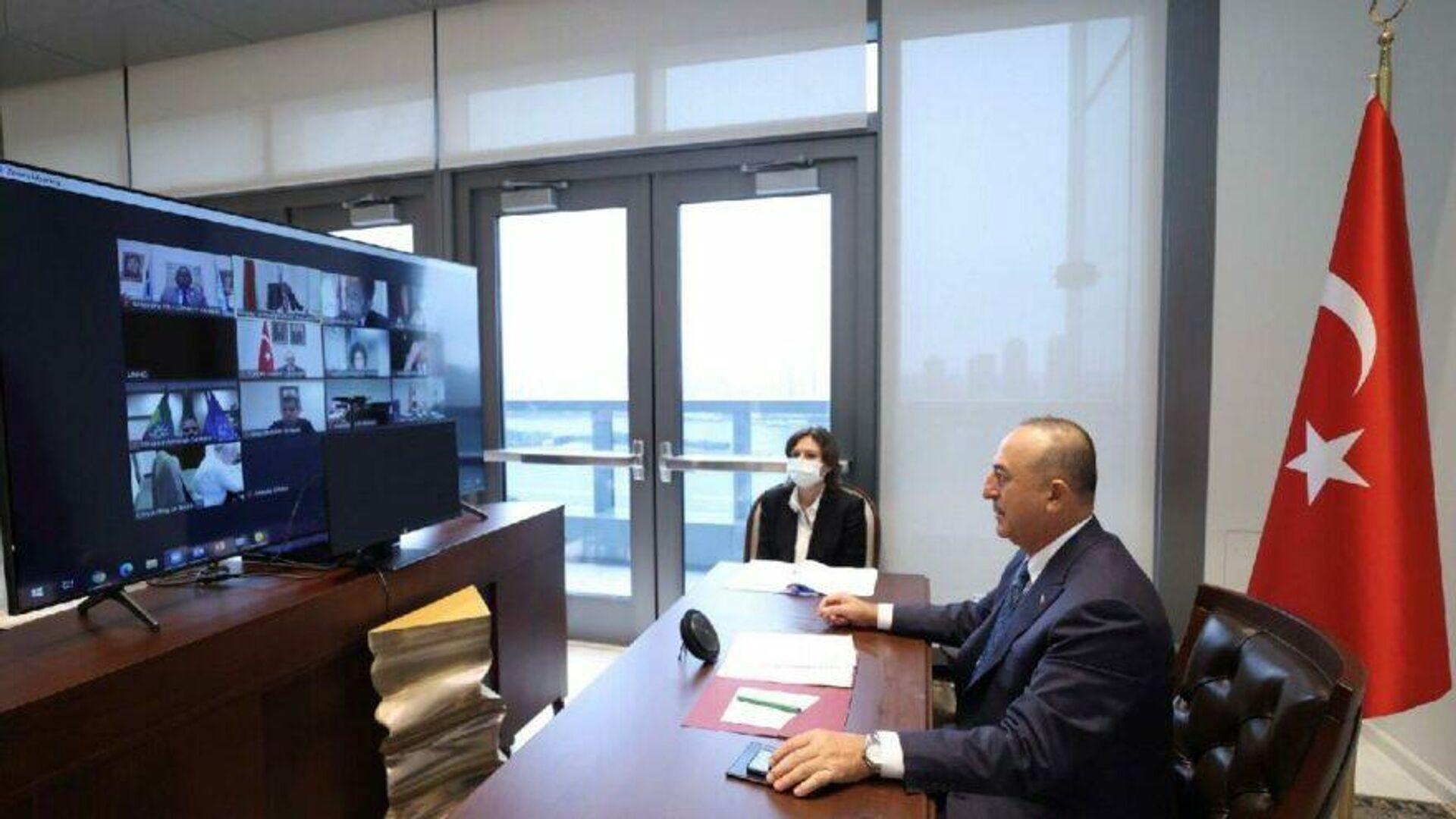 Dışişleri Bakanı Çavuşoğlu, New York'ta en az gelişmiş ülkeler toplantısına katıldı - Sputnik Türkiye, 1920, 17.09.2021