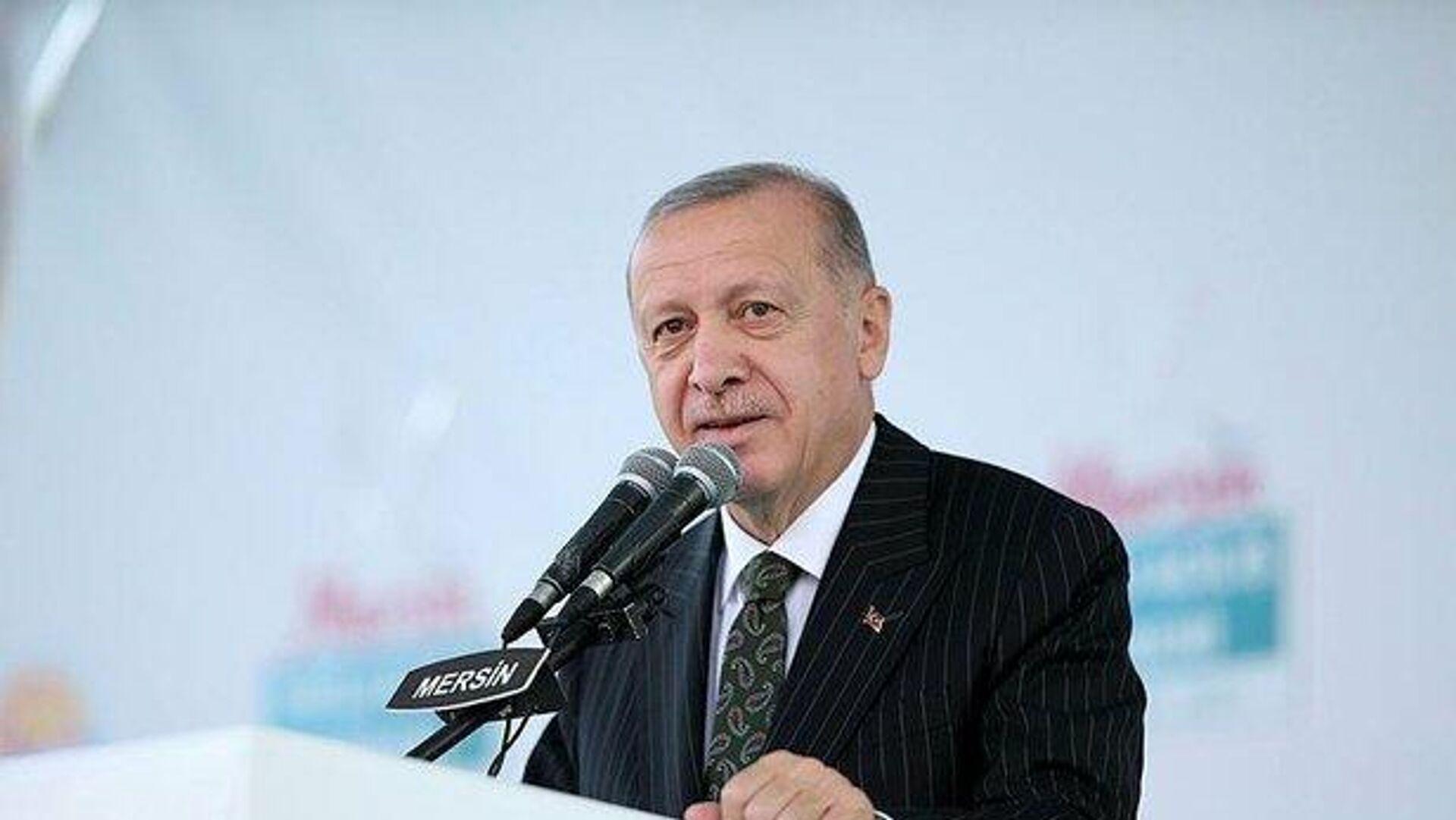 Cumhurbaşkanı Erdoğan: Akkuyu Nükleer Santrali'nin 1. ünitesi 2023 Mayıs'ta  tamamlanacak - Sputnik Türkiye, 1920, 17.09.2021