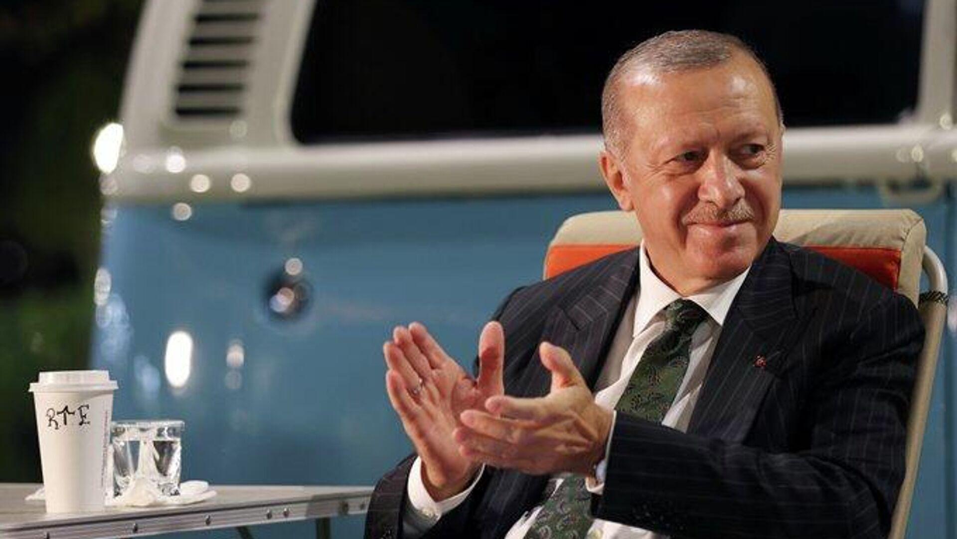 Erdoğan - Sputnik Türkiye, 1920, 18.09.2021