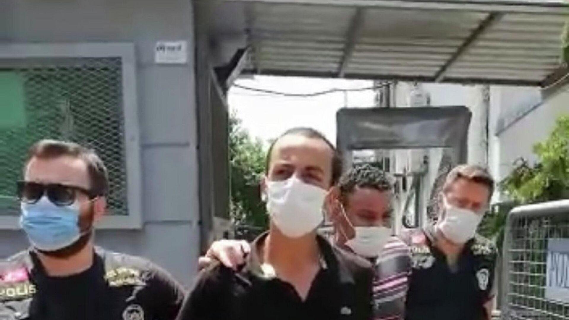 Beyoğlu'nda Faslı iki gaspçı Ürdünlü gencin kaçırdıktan sonra ellerini ve ayaklarını bağlayarak 15 gün boyunca kırbaçla işkence yaptı. - Sputnik Türkiye, 1920, 20.09.2021