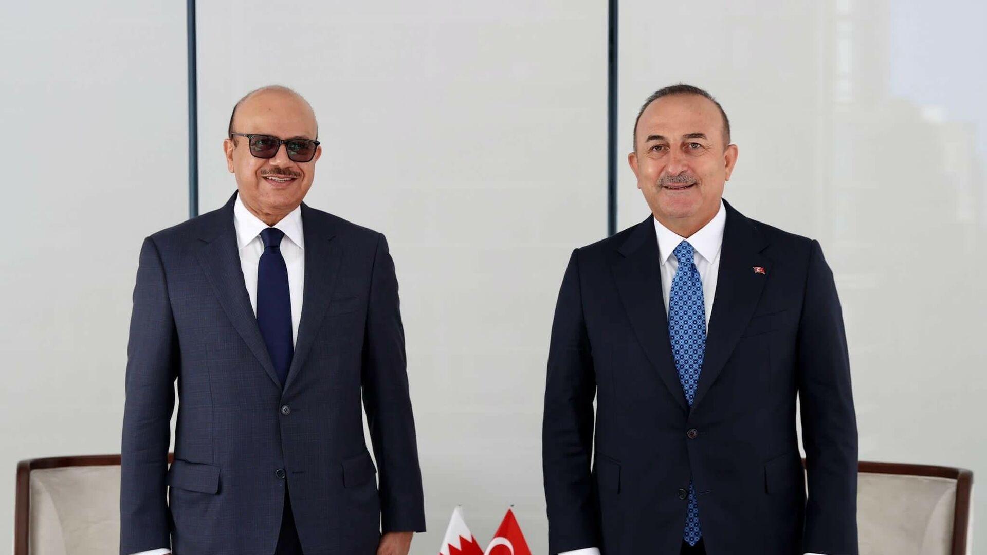 Çavuşoğlu, Bahreyn Dışişleri Bakanı Al Zayani ile görüştü - Sputnik Türkiye, 1920, 20.09.2021