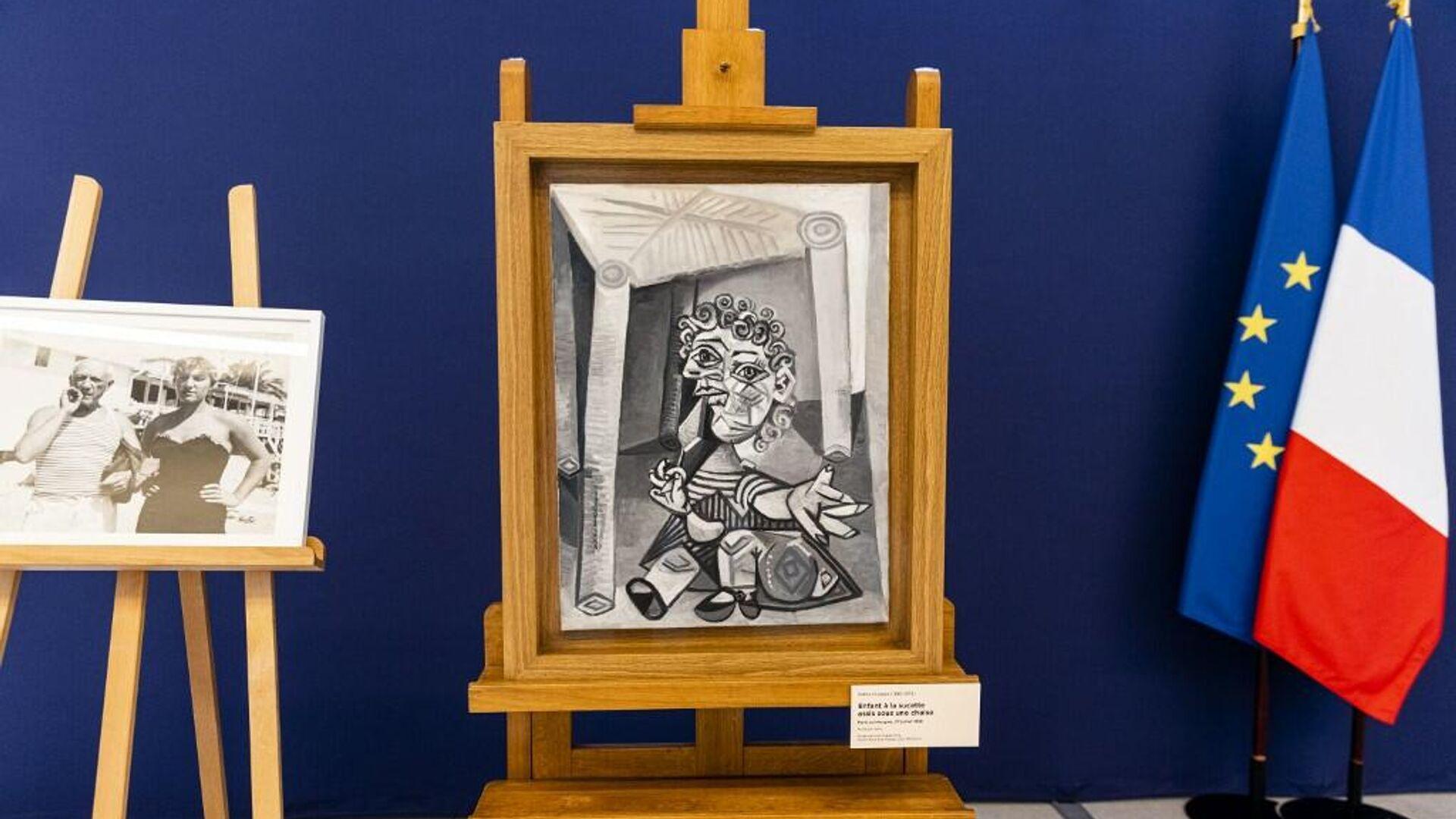 Pablo Picasso, Paris - Sputnik Türkiye, 1920, 21.09.2021