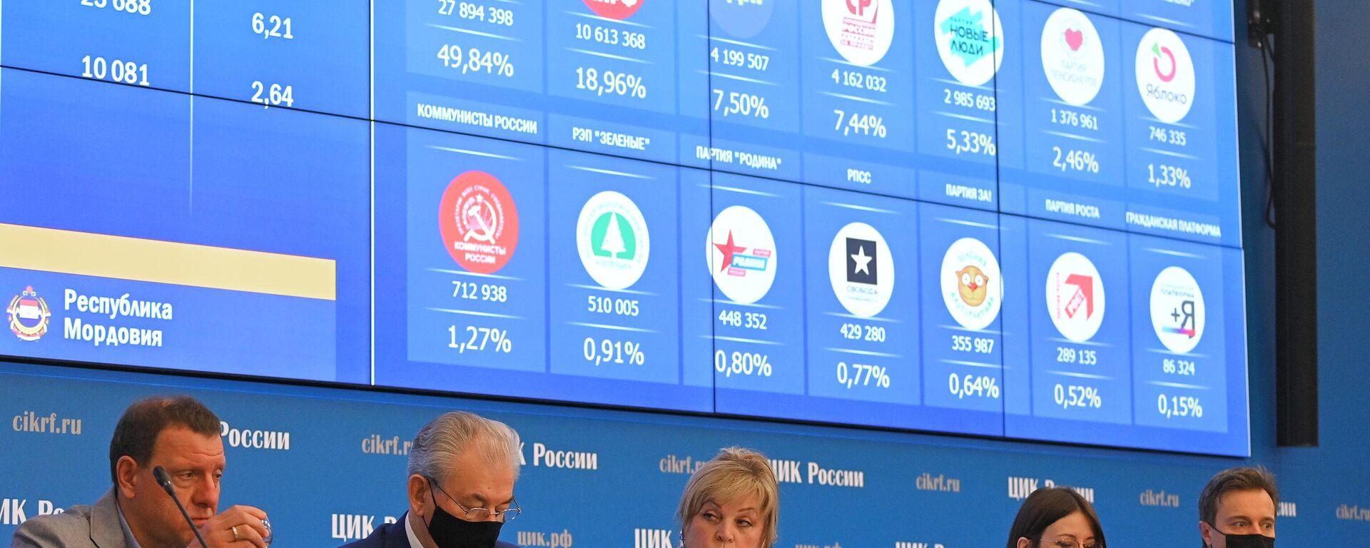 Rusya, Duma seçim - Sputnik Türkiye, 1920, 21.09.2021