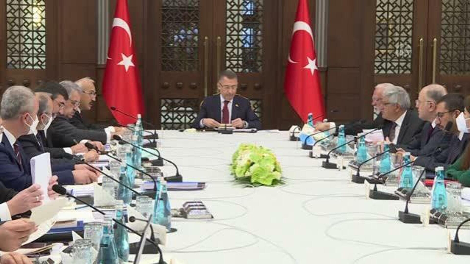Cumhurbaşkanlığı Külliyesi'nde vergilerle ilgili düzenleme ihtiyaçlarına yönelik toplantı - Sputnik Türkiye, 1920, 22.09.2021