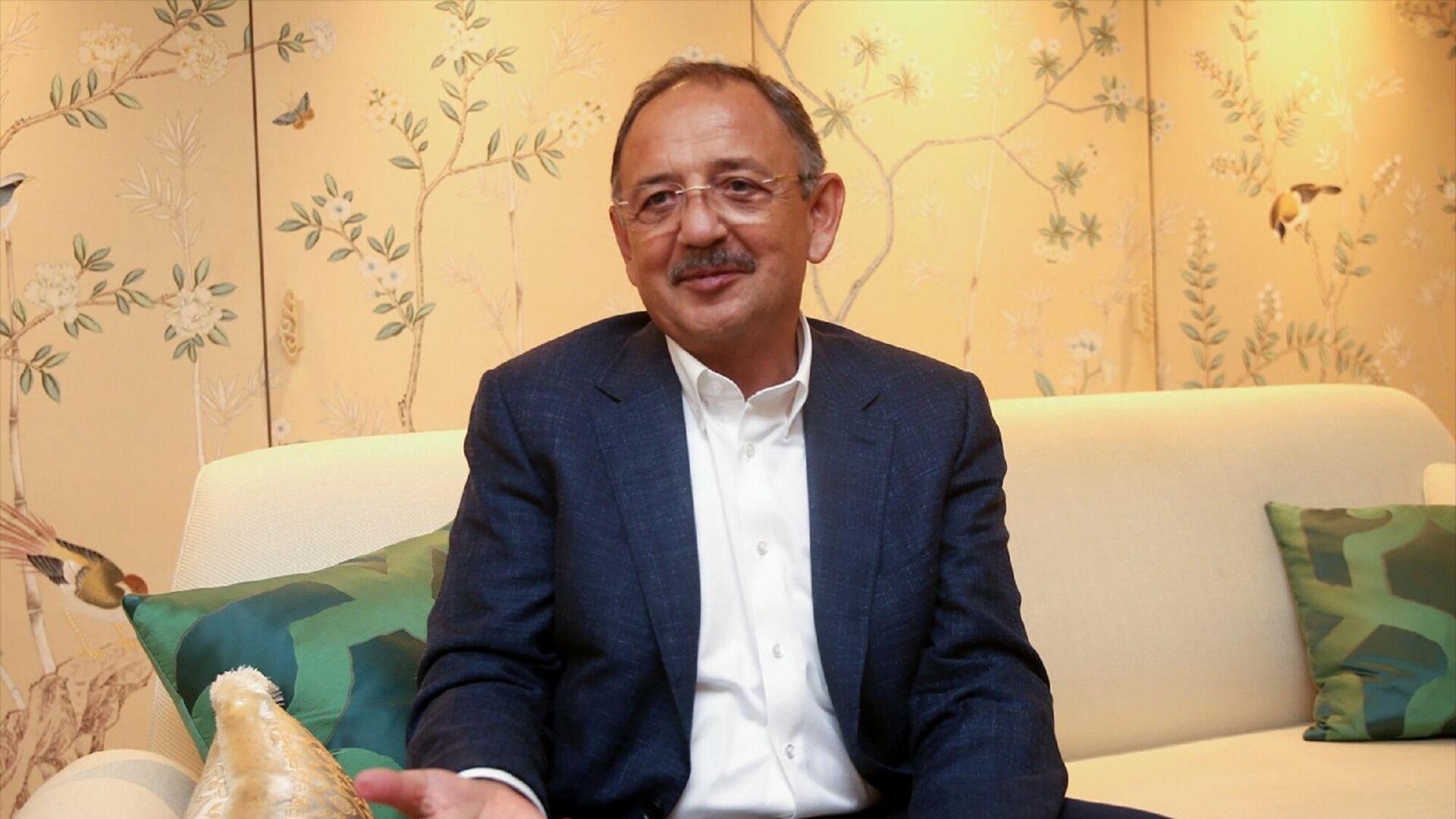 AK Parti Genel Başkan Yardımcısı ve Yerel Yönetimler Başkanı Mehmet Özhaseki - Sputnik Türkiye, 1920, 23.09.2021