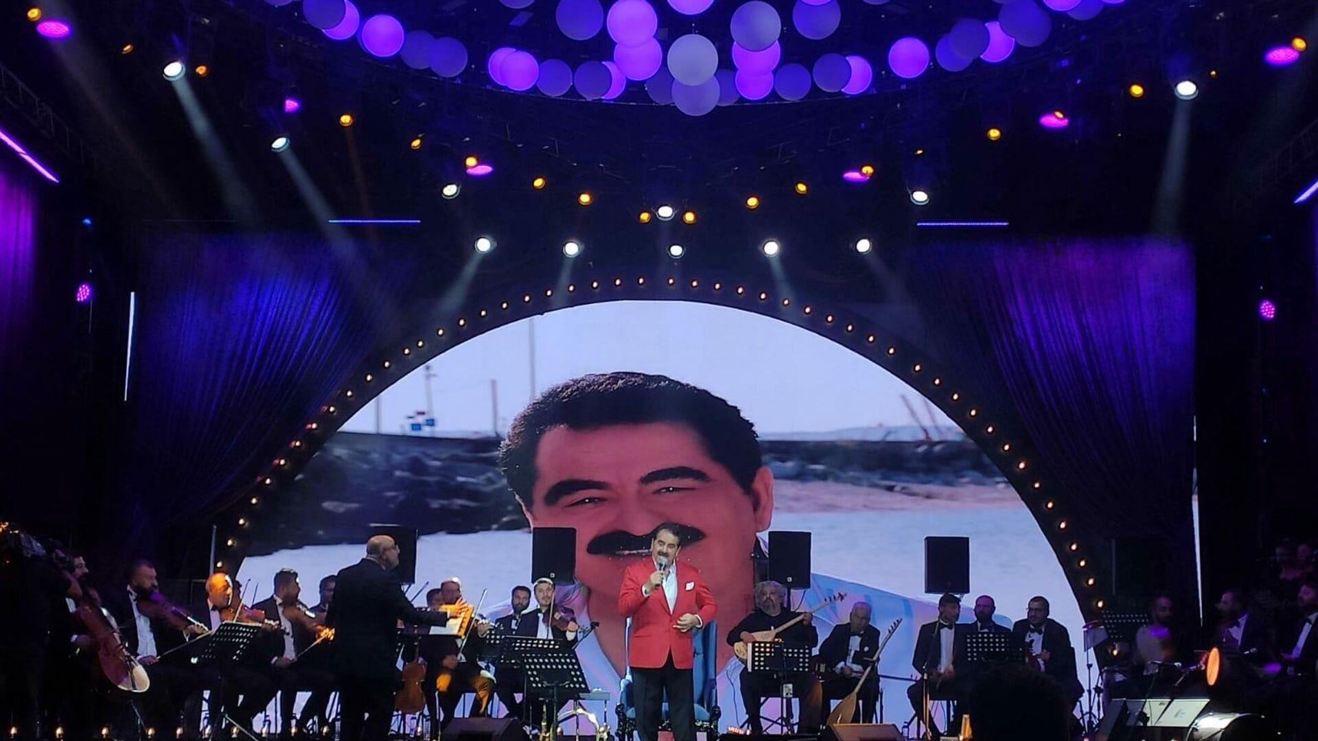 İbrahim Tatlıses ilk konserini verdi - Sputnik Türkiye, 1920, 24.09.2021