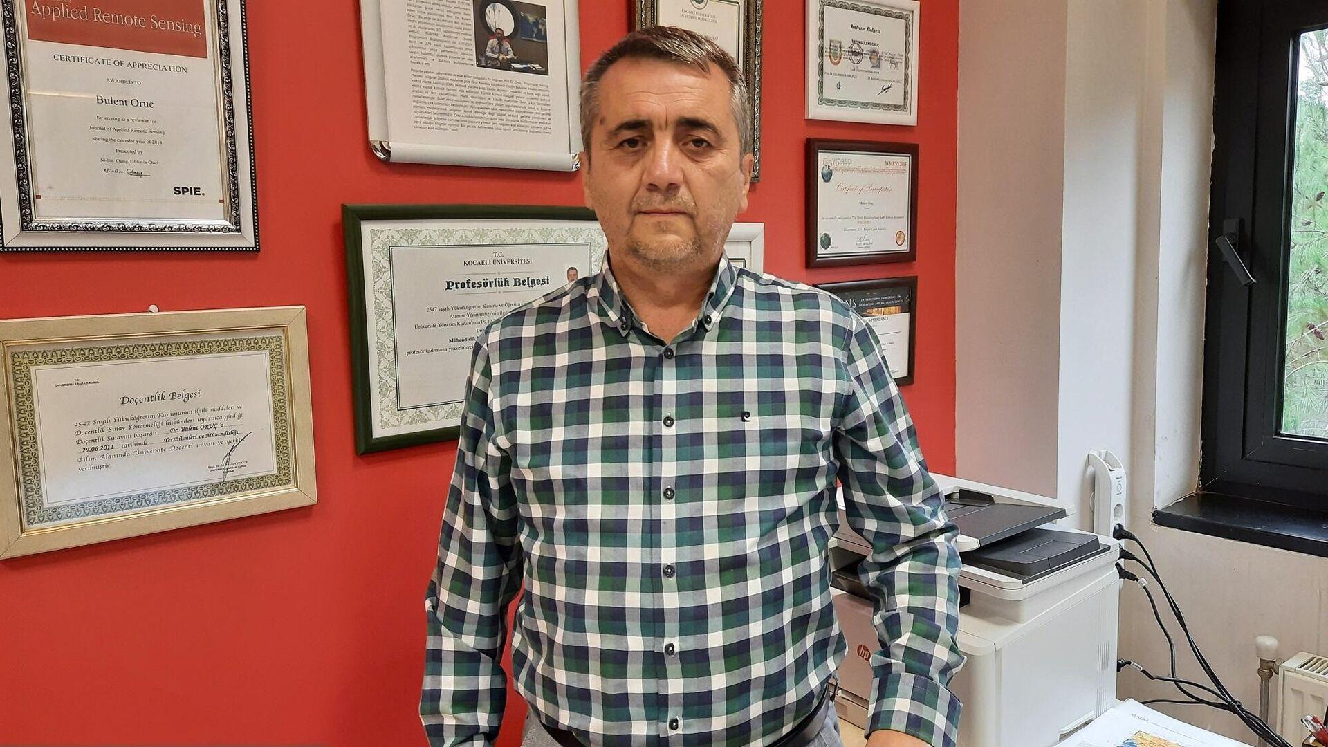 Kocaeli Üniversitesi Mühendislik Fakültesi Jeofizik Mühendisliği Bölüm Başkanı Prof. Dr. Bülent Oruç - Sputnik Türkiye, 1920, 24.09.2021