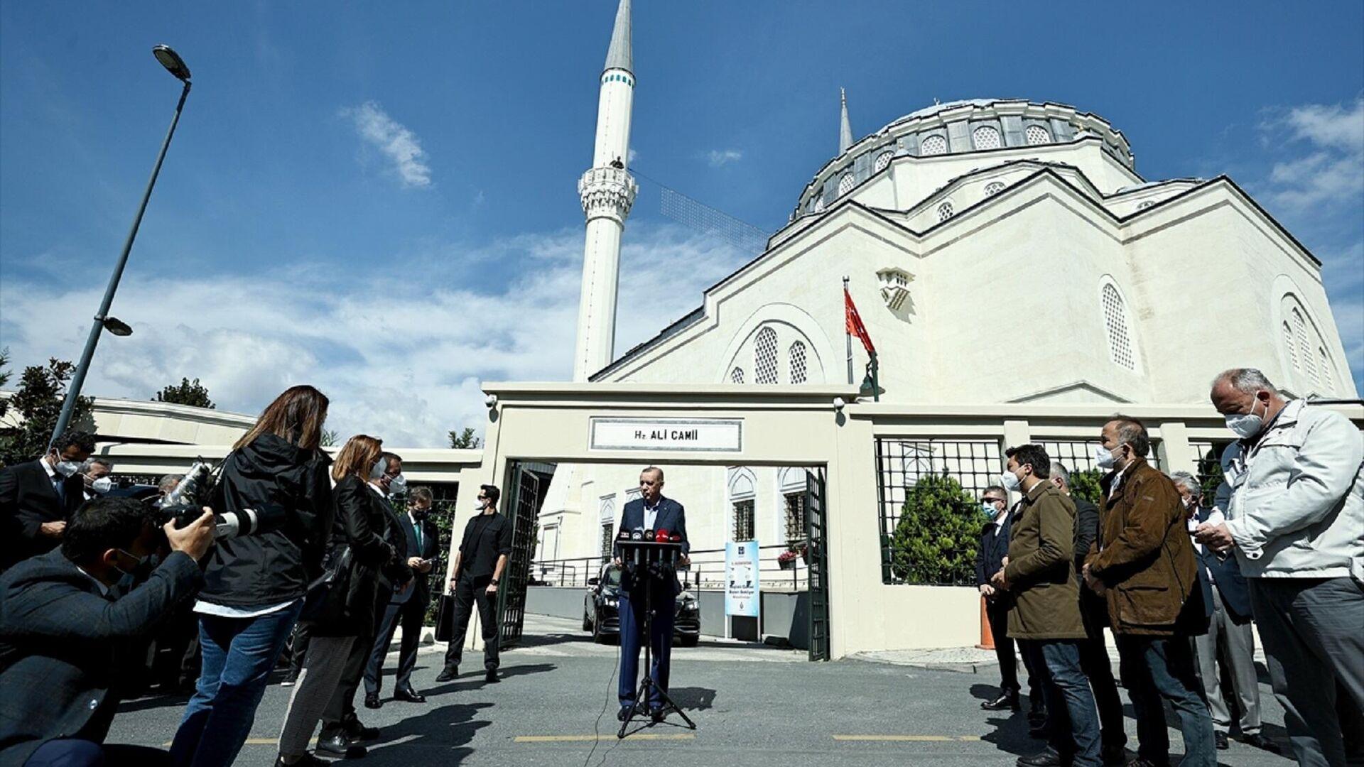 Cumhurbaşkanı Recep Tayyip Erdoğan - Sputnik Türkiye, 1920, 24.09.2021