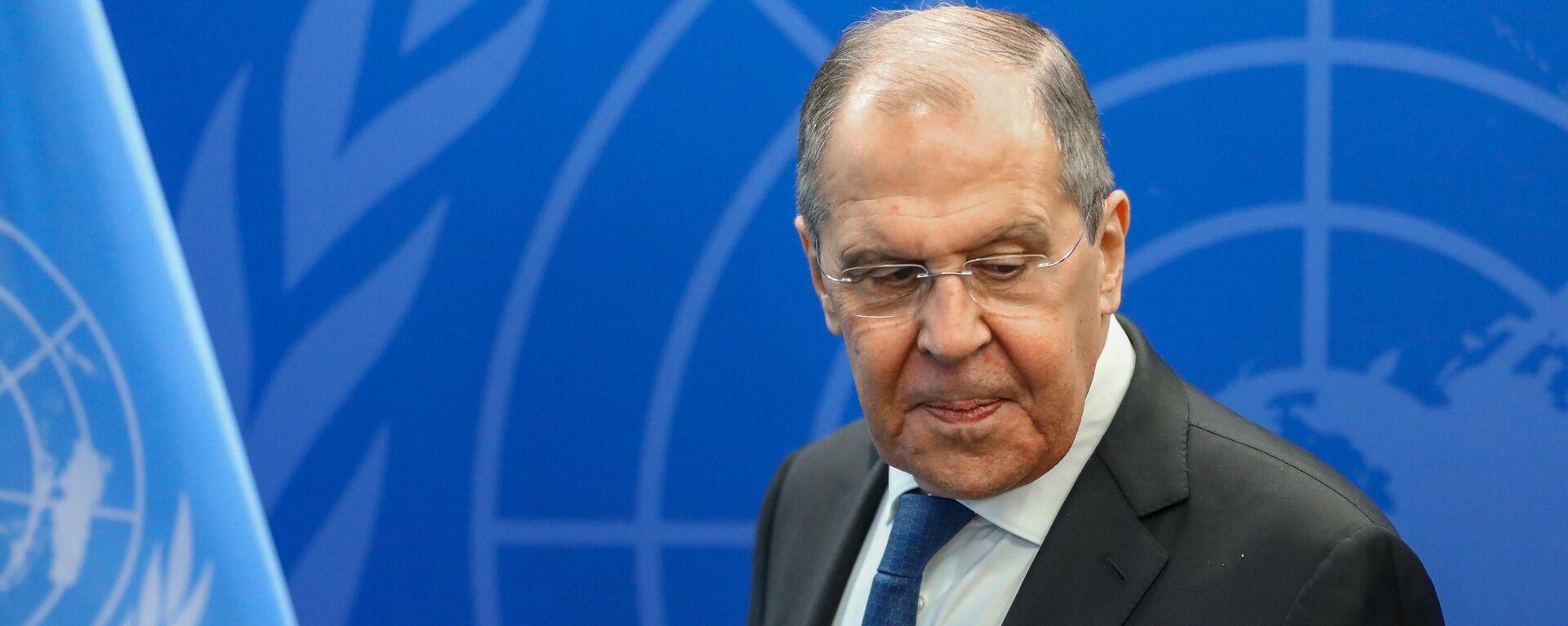 Rusya Dışişleri Bakanı Sergey Lavrov - Birleşmiş Milletler (BM) - Sputnik Türkiye, 1920, 25.09.2021