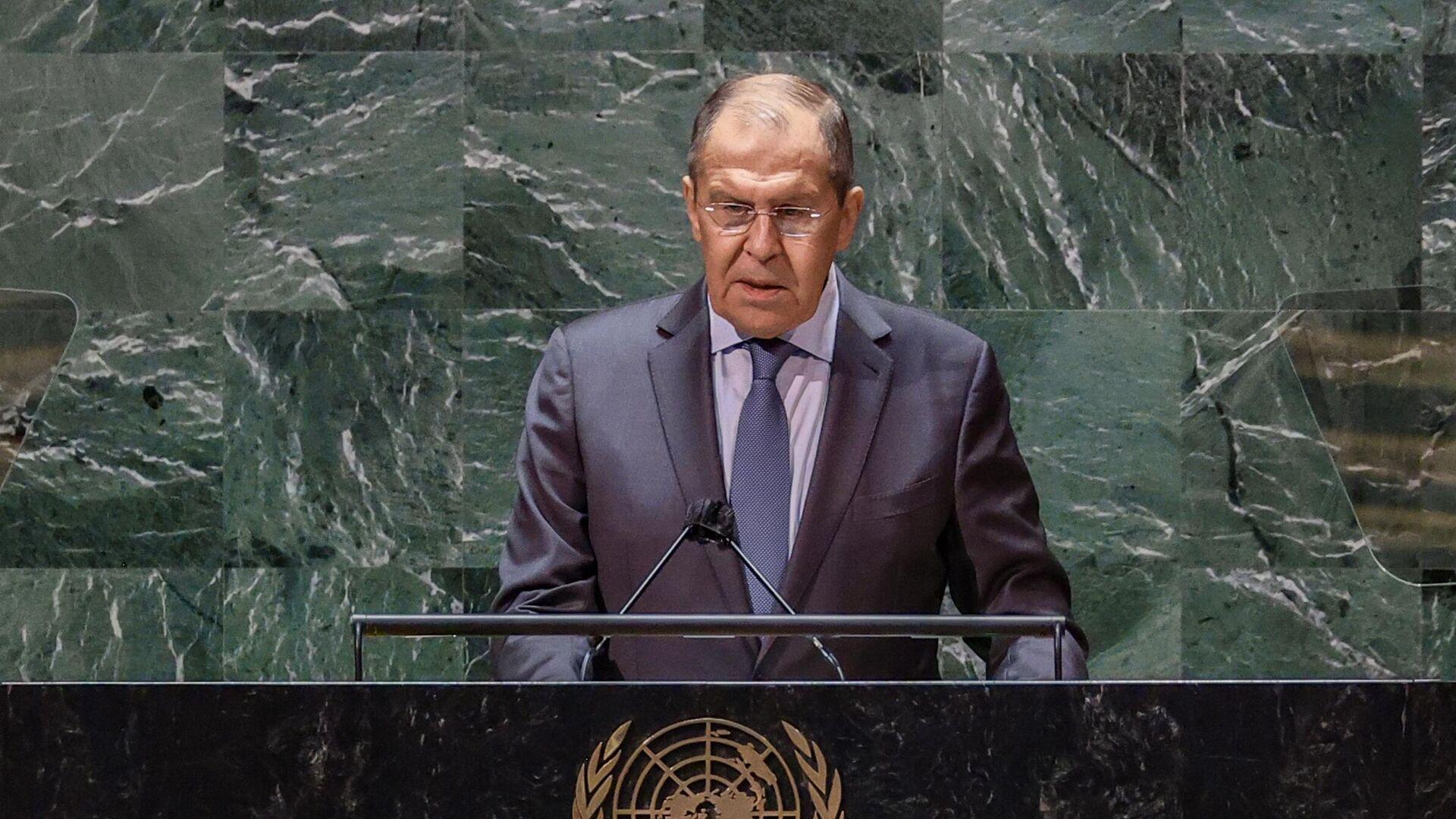 Rusya Dışişleri Bakanı Sergey Lavrov - BM Genel Kurulu - Sputnik Türkiye, 1920, 26.09.2021