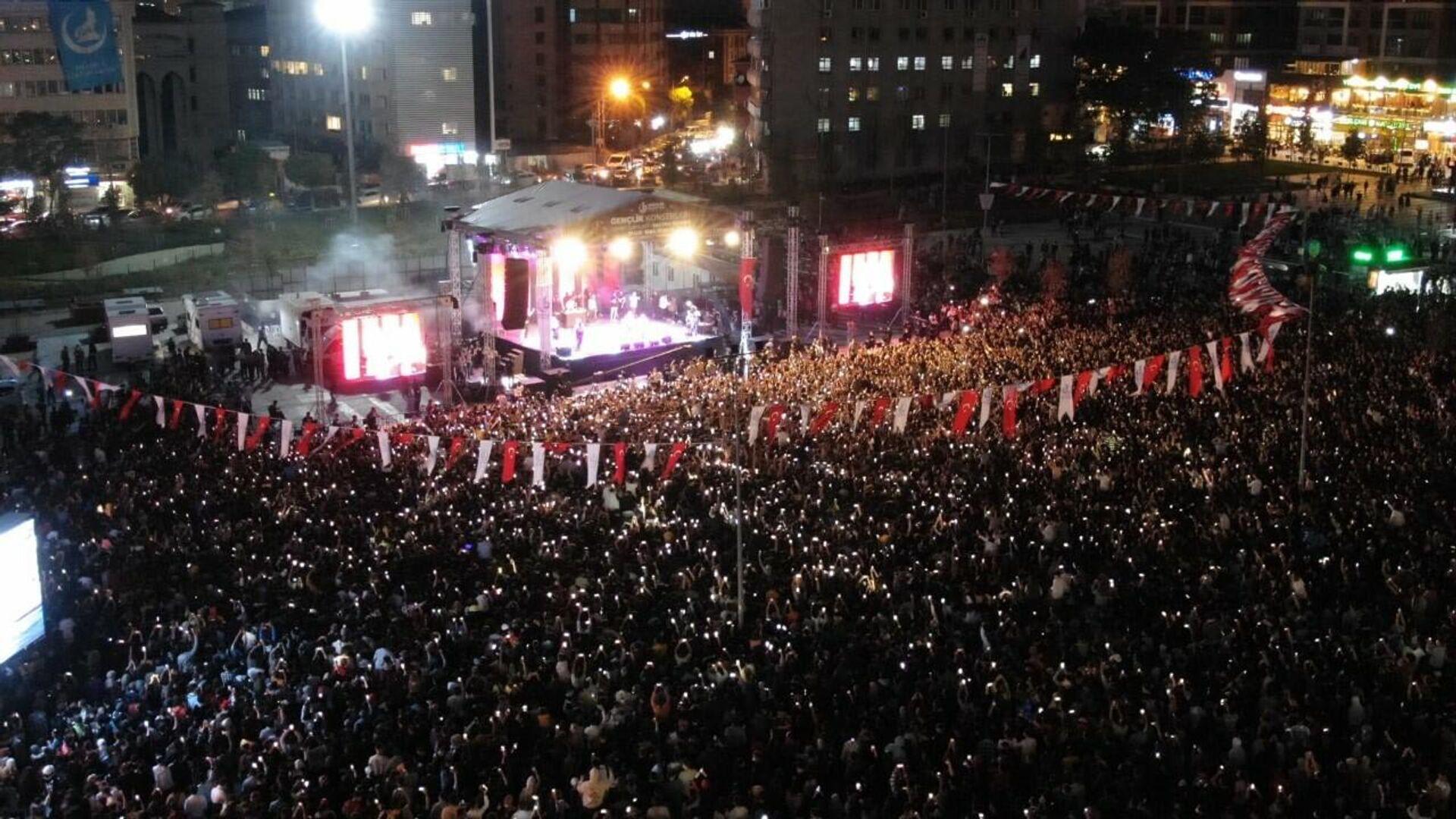 Bağcılar'da 20 bin kişilik rap konseri  - Sputnik Türkiye, 1920, 26.09.2021