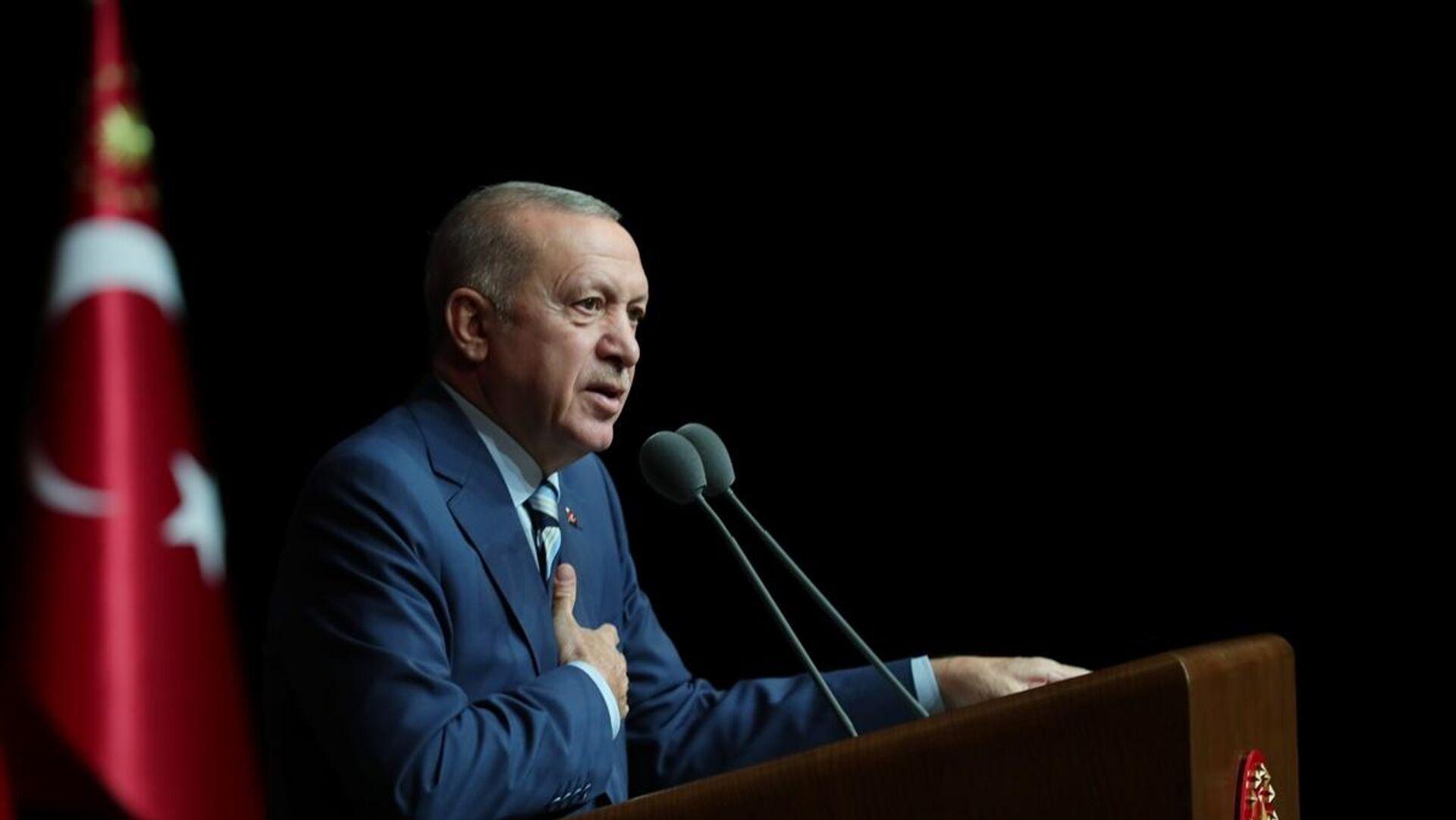 Recep Tayyip Erdoğan - Sputnik Türkiye, 1920, 28.09.2021