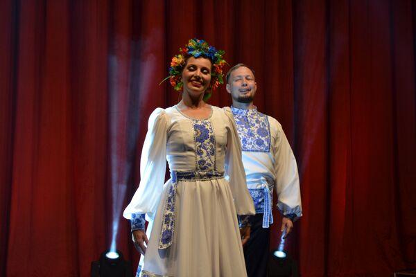 St. Petersburg'dan Müzik ve Dans Topluluğu 'Hohloma' .  - Sputnik Türkiye