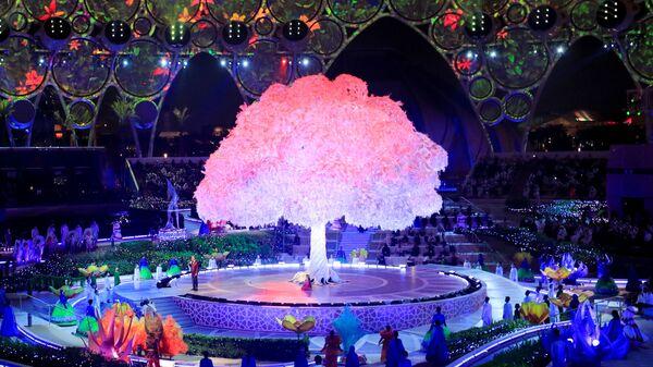 Церемония открытия Dubai Expo 2020 в ОАЭ - Sputnik Türkiye