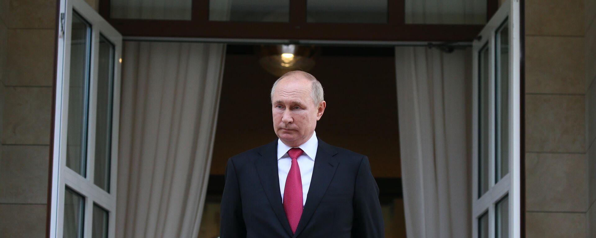 Vladimir Putin - Sputnik Türkiye, 1920, 13.10.2021