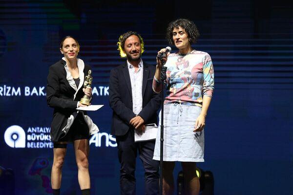 Festivalde Ulusal En İyi Kısa Film ödülünü Elif Refiğ aldı. - Sputnik Türkiye