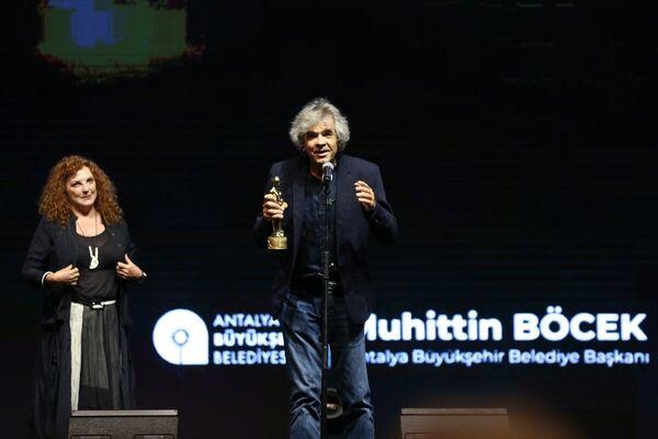 Festivalde, En İyi Müzik ödülünü Nikos Kypourgos aldı. - Sputnik Türkiye