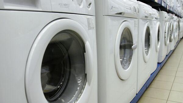 Media Markt mağazasında çamaşır makineleri - Sputnik Türkiye