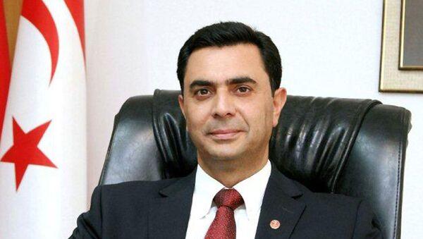 Kuzey Kıbrıs Türk Cumhuriyeti  Dışişleri Bakanı Özdil Nami - Sputnik Türkiye