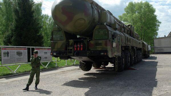 Topol-M balistik füze - Sputnik Türkiye