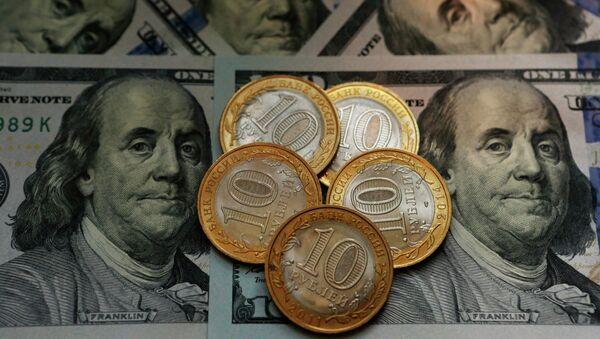Dollar ve Ruble. Para - Sputnik Türkiye