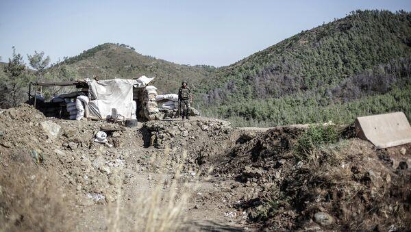 Suriye Asker Dağlar - Sputnik Türkiye