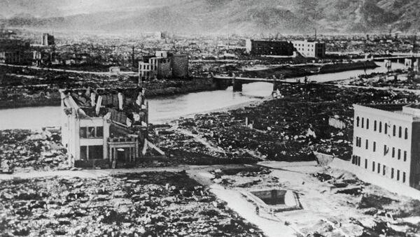 Hiroşima'ya atom bombası saldırısı - Sputnik Türkiye