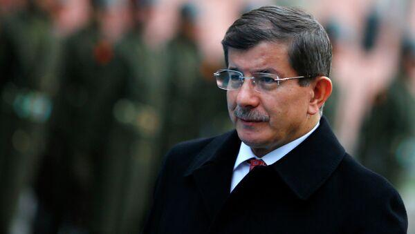 Türkiye Başbakan Ahmet Davutoğlu - Sputnik Türkiye