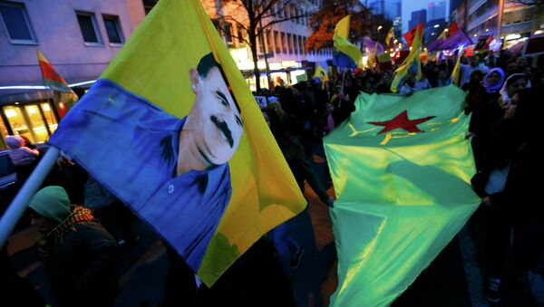 Almanya'da PKK'ya destek mitingi - Sputnik Türkiye