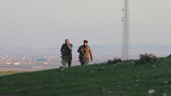 Kobani'deki Kürt milisler - Sputnik Türkiye