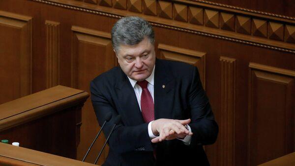 Ukrayna Devlet Başkanı Poroşenko - Sputnik Türkiye